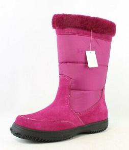 Coach Womens Pink Snow Boots Size 6