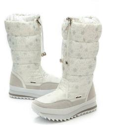 womens plush ankle boots warm snow shoes