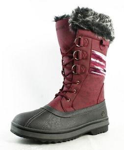 Northside Womens Red Snow Boots Size 10