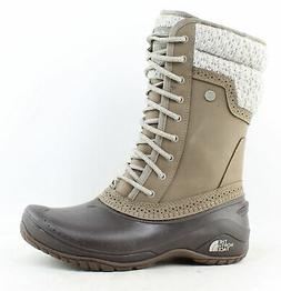 The North Face Womens Shellista Ii Brown Snow Boots Size 9.5