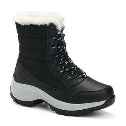Womens Snow Boots Waterproof Wide Calf Winter Warm High-top