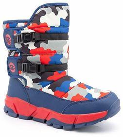 Womens Snow Boots Waterproof Outdoor Mid Calf Warm Winter Fu