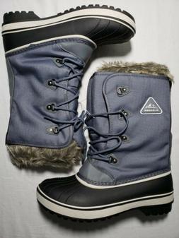 Aleader Womens Waterproof Winter Snow Boots Size 9