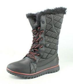 Sugar Womens Waters Black/Red Snow Boots Size 8