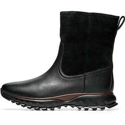 Cole Haan Womens ZEROGRAND XC Suede Ankle Snow Winter Boots