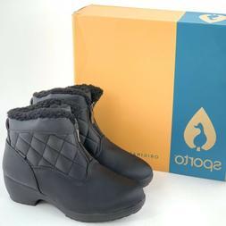 Sporto Zelda Women's Waterproof Snow Boots Zip Up Ankle Boot